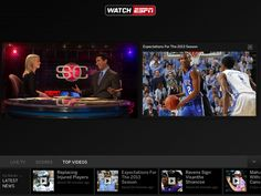 WatchESPN Updated With Split-Screen Live and On-Demand Viewing for iPad - http://www.ipadsadvisor.com/watchespn-updated-with-split-screen-live-and-on-demand-viewing-for-ipad