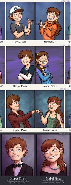 Dipper_e_Mabel__Fotos_no_livro_do_ano_by_limey404.png (745×1931)