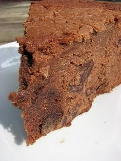 Trisha Yearwood's Chocolate Pound Cake - add chocolate pieces to recipe