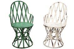 Silla Valdivia Verde | Muebles vintage, mobiliario retro e industrial
