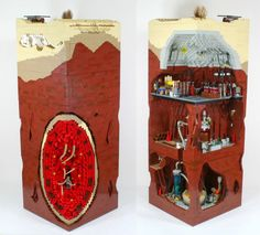 WOW!!!! This Incredible Lego Diorama Shows How Boba Fett Escaped The Sarlacc Pit