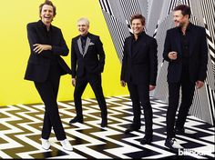 The Duran Duran/Billboard cover shoot photo session! http://duran.io/1GqeeLY