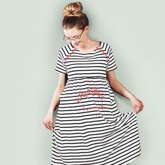 Ahoi little Boy Shirt Dress, T Shirt, Little Boys, Outfits, Collection, Dresses, Fashion, Clouds, Pregnancy