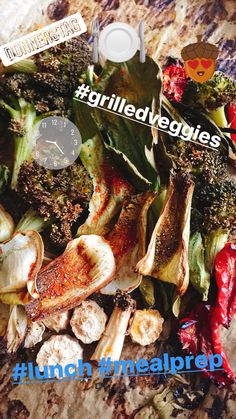 Mealprep Lunch: Grilled veggies