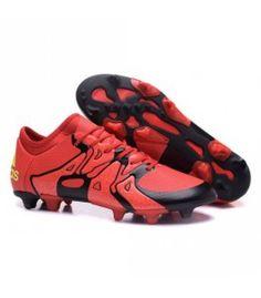 new concept 8f876 65895 2016 Nouveau Adidas X FG AG - Chaussures de Foot Rouge Noir Volt pas chere