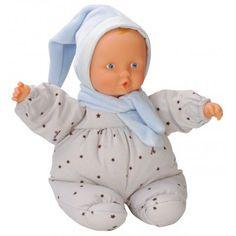 De eerste pop die zowel geschikt is voor pasgeboren baby's als voor wat oudere kinderen. De pop heeft een lief gezichtje waarbij baby's zich veilig voelen. Het is precies het juiste formaat voor kleine handjes. De pop heeft een zacht belletje en een subtiele vanillegeur. De pop heeft een ingenaaid label waarop u de naam van uw kind kunt schrijven. De pop mag in de wasmachine. http://www.benjaminbengel.com/poppen/1101193-elf-blue-stars-746775224455.html