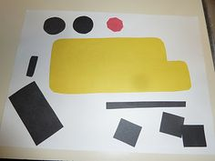 shape bus to go with Don't Let the Pigeon Drive the Bus - from preschoolbookclub.blogspot