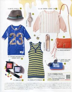 Cute shot of my tank top featured in @Nylon Magazine Japan! ♥