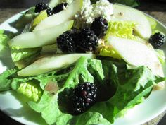Blackberry Pear Salad