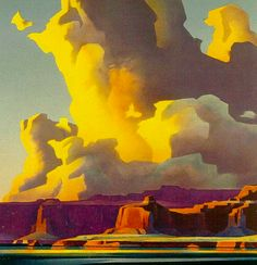 #Painting by Ed Mell #art  http://artroots.com/art/edmell2.jpg