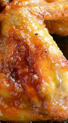 Juicy, sticky, awesome wings that will blow your taste buds away! Baked chicken wings slathered in an easy homemade spicy orange glaze! Best Chicken Recipes, Turkey Recipes, Asian Recipes, Ethnic Recipes, Asian Foods, Best Appetizers, Appetizer Recipes, Italian Appetizers, Frango Chicken