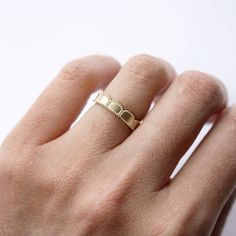 Beaded Scallop Ring by Cara Tonkin, the perfect gift for Explore more unique gifts in our curated marketplace. Stacked Wedding Rings, Lace Ring, Rose Gold Engagement Ring, Scalloped Lace, Ring Designs, Band Rings, Wedding Bands, Unique Gifts, Curves