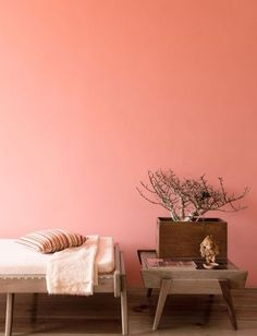 Cor do ano - 2019 Pantone Living coral Living Pequeños, Live Coral, Bohemian Style Bedrooms, Deco Design, Color Stories, Living Room Bedroom, Coral Walls Bedroom, Bedroom Bed, Color Of The Year