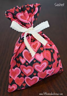 Make this cute little sachet to scent anything!  Young Living Oils are used to make these rice filled sachets amazing!