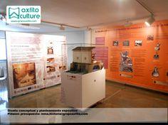Diseño espacios expositivos, museografía axfito culture cultura