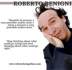 roberto benigni quotes - Google Search
