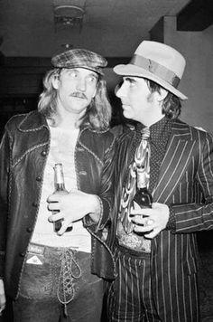 Joe Walsh and Keith Moon mid seventies.