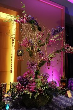 Enchanted Forest Wedding Indoors   Wedding Love~Enchanted Forest Reception