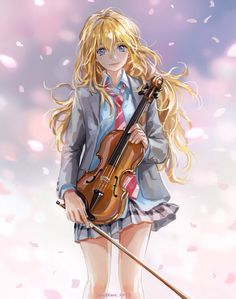 Your Lie in April - really loved this series can't believe their isn't gonna be another season