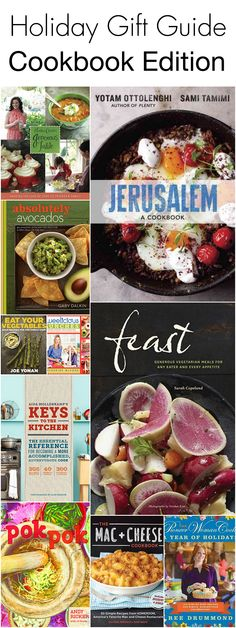 Holiday Gift Guide: Cookbook Edition! My all time favorite cookbooks for anyone on your Christmas list!