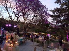 Lights aglow at the #kellogghouse #weddingvenue #venue #outdoorvenue #reception #weddingreception