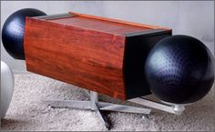 The Clairtone Project G. They came with Elac turntables from Germany. So innovative in the 60's that many of the stars of the day owned them.