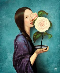 Mayflower Art Print by Christian Schloe - X-Small Wall Prints, Canvas Prints, Affordable Wall Art, Musa, May Flowers, Character Drawing, Cool Art, Thing 1, Things To Come