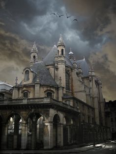 I think their architecture style is very Gothic. Abandoned Buildings, Abandoned Castles, Old Buildings, Abandoned Places, Beautiful Architecture, Beautiful Buildings, Beautiful Places, Beautiful Castles, Beautiful Life