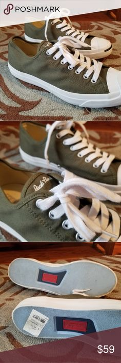 6e1eee2b4608 Converse Jack Purcell Olive Green Shoes Converse Jack Purcell Olive Green  157785C NXLL51VH00147 Size  Men s