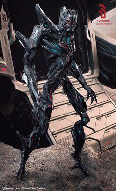 Alien Arrival 02 by Shaun Sherman | Sci-Fi | 3D | CGSociety