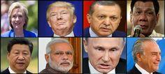 Parliamo di Europa Unita, un viaggio tra gli attuali presidenti degli Stati Continente. Una lista raccapricciante.