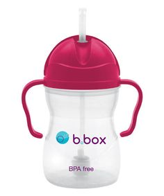 Love this Raspberry Sippy Cup on #zulily! #zulilyfinds