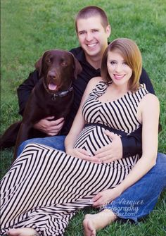 These parents to be we're a pleasure to work with and their chocolate Labrador…