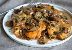 TESTED & PERFECTED RECIPE - Chicken Marsala is an Italian-American dish of golden pan-fried chicken cutlets and mushrooms in a rich Marsala wine sauce.