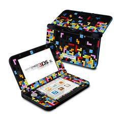 Not that I have money for video games anyway - Nintendo 3DS XL Skin - Tetrads by DecalGirl Collective