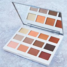 Who's in love with neutrals? Our Marble Collection - Warm Stone - 12 Color Eyeshadow Palette ranges from frosty ivory & peach to rich tan & bronze for day & night glam 😍 Makeup Blog, Makeup Tools, Makeup Inspo, Makeup Stuff, Makeup Artists, Makeup Brushes, Makeup Ideas, Makeup Set, Skin Makeup