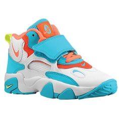 Nike Speed Turf - Boys Preschool - White/Bright Mango/Total Crimson/Bright Turquoise