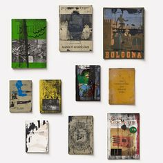 Books, 2012 Set No. 3 of six individual sets silkscreen and mixed media on paper 15 3/4 x 25 1/2 x 4 1/4 (artist box)