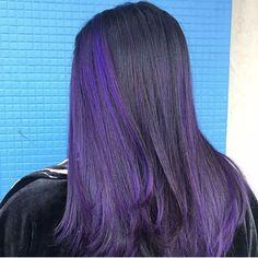 Gorgeous color by @heybonn using #ruskcolor Go bold with purple hair! . . . . . . . #purplehair #haircare #haircolor #haircut #hairschool #hairstylist #westernbarberinstitute #westernbeautyinstitute #beautyschool #beauty #colorist #cosmetology #cosmetologyschool #cosmolife #colorfulhair