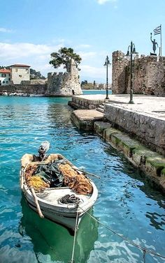 Nafpaktos, Aetolia-Acarnania, Greece | by Xristos_X_Paravalos Places To Travel, Places To Visit, Santorini Villas, Myconos, Places In Greece, Paradise On Earth, Greece Travel, Travel Europe, Greek Islands