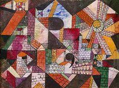 Paul Klee: Stadt R. 1919