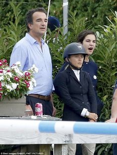 Mary-Kate Olsen, 30, gets good luck kiss from husband Olivier