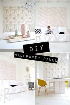 pinned by barefootblogin.com DIY, wallpaper: wood panel