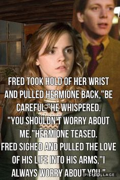 I already ship Hermione with Draco Fred and Tom. Why is she so shipable?