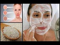 Máscara CLAREADORA e rejuvenescedora de ARROZ- (Melasma,manchas de sol e marcas de acne) - YouTube