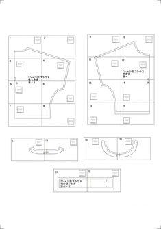 Tブラウスの無料型紙と作り方 | ヘルカ + ハンドメイド