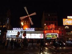 The Moulin Rouge Paris, France