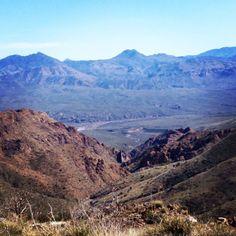 Arizona mountain view