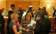 Solution Providers networking with each other in San Francisco