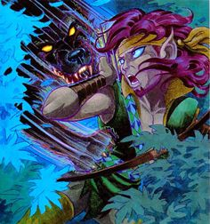 Strongbow. Elfquest.